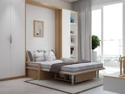 Clever Murphy Bed Design