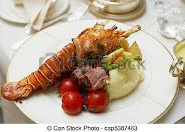gourmet lobster dinner. Interesting Lobster Lobster  Csp5387463 On Gourmet Dinner R
