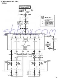 wire schematics wiring diagram 4th gen lt1 f body tech aidspower mirror schematic 1995 camaro