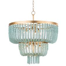 regina andrew design summer glass bead chandelier large
