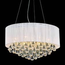 enchanting chandelier lamp shades drum