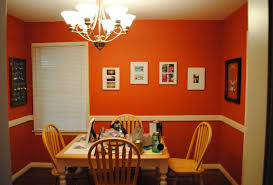 Orange Dining Room Chairs Stylish Dining Room Decorating Ideas