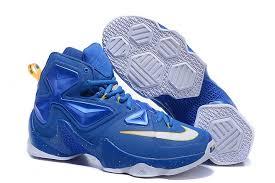 lebron james shoes 13 blue. genuine 2016 lebron james 13 white blue basketball shoes