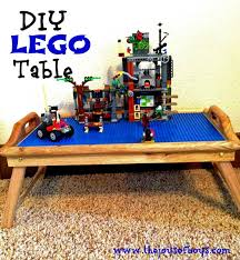 so santa did not disappoint and brought them their very own lego tables if you are looking for a diy lego table this is easy to make