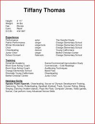 Resume Template Beginner Resume Level Objective Image Confortable