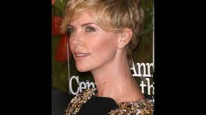 Charlize Theron Short Hair Style  charlize theron and her tender curly christmas hairstyle for 5251 by wearticles.com