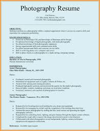 Professional Associations And Education For Photography Resume