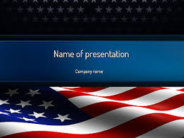 america ppt template america stand strong presentation template for powerpoint and