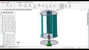 Vawt Blade Design Software Solidworks Tutorial Magnetic Levitation Vertical Axis Wind