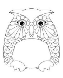 owl pictures to colour in. Simple Owl Owl Coloring Page And Pictures To Colour In R