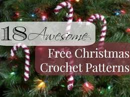 Free Christmas Crochet Patterns Unique 48 Awesome Free Christmas Crochet Patterns AllFreeCrochet
