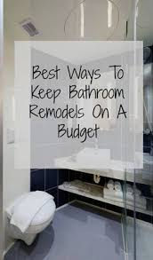 bathroom remodel on a budget. Bathroom Remodels On A Budget. How To Improve And Update Your Bathroom On A  Budget Remodel