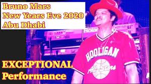 Let the countdown begin ⏰ ✨ thanks t! Bruno Mars Nye 2020 New Year S Eve Countdown Concert In Abu Dhabi Uae Best Concert Countdown Youtube