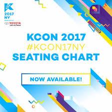 Kcon Ny 2017 Seating Chart