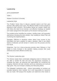 College Essays On Leadership Leadership College Essays