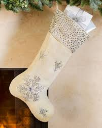 snowflake christmas stockings. Contemporary Snowflake Jute Snowflake Christmas Stocking Main Inside Stockings S