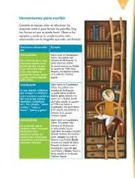 Catálogo de libros de educación básica. Escribir Biografias Y Autobiografias Para Compartir Ayuda Para Tu Tarea De Espanol Sep Primaria Sexto Respuestas Y Explicaciones