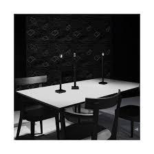 ingo maurer my new flame usb black table lamp