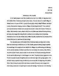 the crucible essay international baccalaureate world literature page 1 zoom in