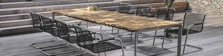 garden furniture table and chairs logo