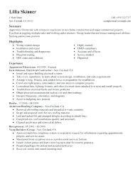 Electrician Resume Mesmerizing Resume Sample Electrician Journeyman Electrician Resume Sample