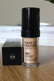 makeup forever hd foundation 140