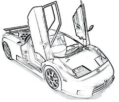 Small Picture Free Printable Bugatti Coloring Pages Page For Kids vonsurroquen