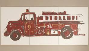 projects idea of fire truck wall art home designing inspiration design ideas nursery progress engine multi