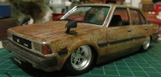 The little rat from Japan, 80´s Toyota Corolla - Under Glass ...