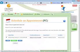 Cmc My Chart Schedule Well Child Appointments Online With Mychart