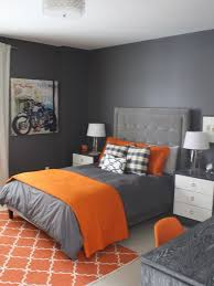 Astonishing Contemporary Bedroom In Grey Wall Painting Completed With Grey  Bed W | Gray wall paints, Grey bed and Bedrooms