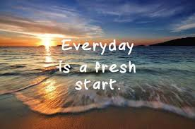 Life Inspirational Quotes Everyday Is A Fresh Start Stock Photo Fascinating Fresh Start Quotes