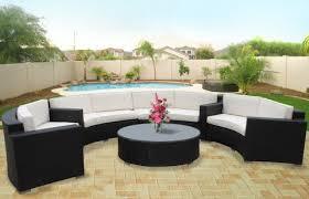 Outdoor Patio Sectional Sofa Veranda 5 Piece Outdoor Patio Outdoor Patio Furniture Sectionals