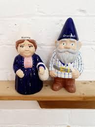 personalised grandpa gnomes garden