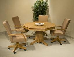 dining chairs on wheels. Interior:Dining Chairs On Wheels Dining Wwheels Round Table With Wheelsets Casters Leather R