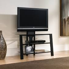 mirage  panel tv stand with mount    sauder