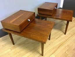 vintage midcentury occasional tables