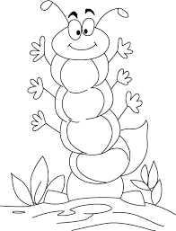 Free Printable Coloring Pages Very Hungry Caterpillar For Kids