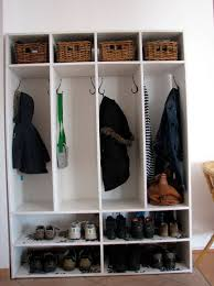 coat closet shoe storage designs