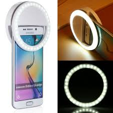Iphone Light When Phone Rings Details About Selfie Portable Led Ring Fill Light Camera Flash For Cell Phone Iphone Samsung