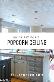 Popcorn Ceiling Styrofoam Tiles- 5 Years Later