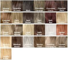 Lace Front Color Chart Harper Wig Style Lace Front Collection Envy Wigs