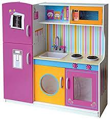 High Quality Grande Y Brillante Multi Cocina Madera Infantil Cocina De Juguete  Accesorios Para Niñas Cocinita Microonda Color Rosa: Amazon.es: Juguetes Y  Juegos