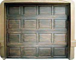 paint metal garage door to look like wood how to paint metal garage doors look like
