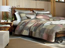stylish daybed rustic country bedding quilt sets french curtains red king comforter primitive quilts black style