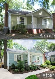 exterior house remodel ideas. exterior home remodel, renovation before and after of our bungalows house remodel ideas e