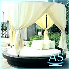 round outdoor bed canopy daybed with nz