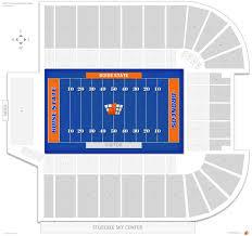 Bronco Stadium Albertsons Stadium Boise State Seating