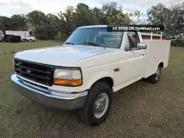 1997 Ford F - 250 Heavy Duty Service Truck - V8 - Utility Bed & Lift ...