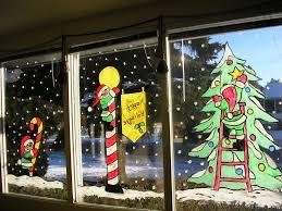Christmas Window Box Decorations Enchanting Christmas Window Decoration Design Using Christmas 79